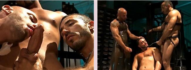 video gay palestrati rosso fetish